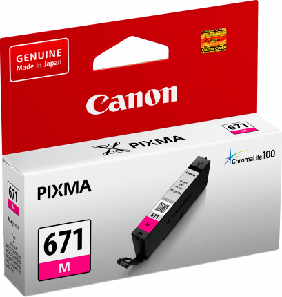 Canon CLI671 Magenta Ink Cart - Out Of Ink
