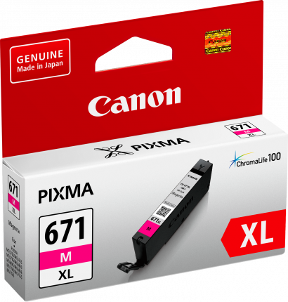 Canon CLI671XL Magenta Ink Cart - Out Of Ink
