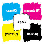 Epson Compatible Inkjet T140 4 Pack - Out Of Ink