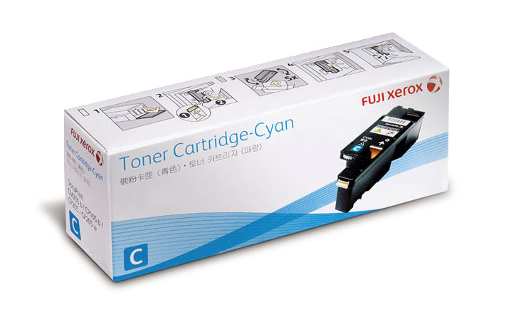 Fuji Xerox CT202265 Cyan Toner - Out Of Ink