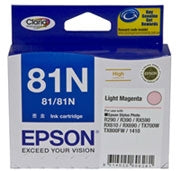 Epson T1116 (81N) Light Magenta Ink Cartridge (replaces T0816) - 805 pages - Out Of Ink