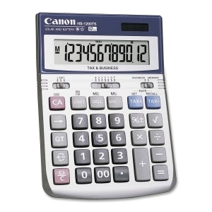 Canon HS1200TS Calculator - Out Of Ink