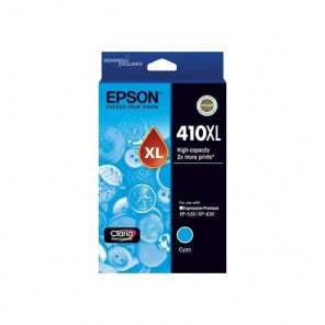 Epson 410 HY Cyan Ink Cart - Out Of Ink