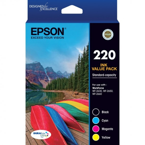 Epson 252 HY Value Pack - Out Of Ink