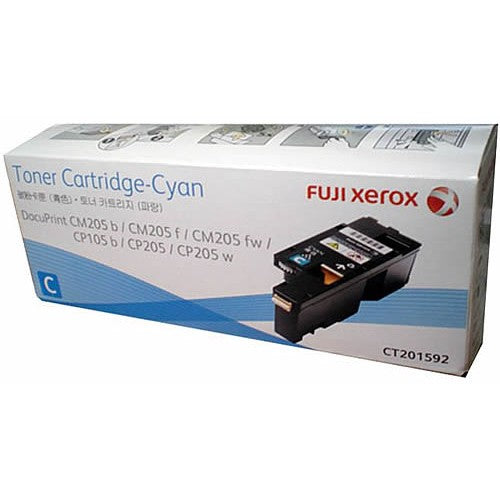 Xerox DocuPrint CT201592 Cyan Toner Cartridge - 1,400 pages - Out Of Ink
