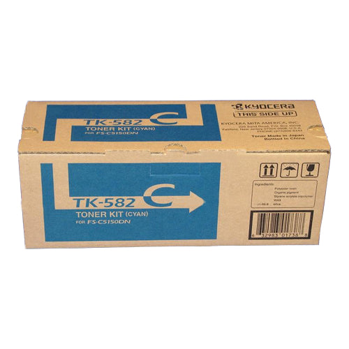 Kyocera FS-C5150DN Cyan Toner Cartridge - 2,800 pages - Out Of Ink