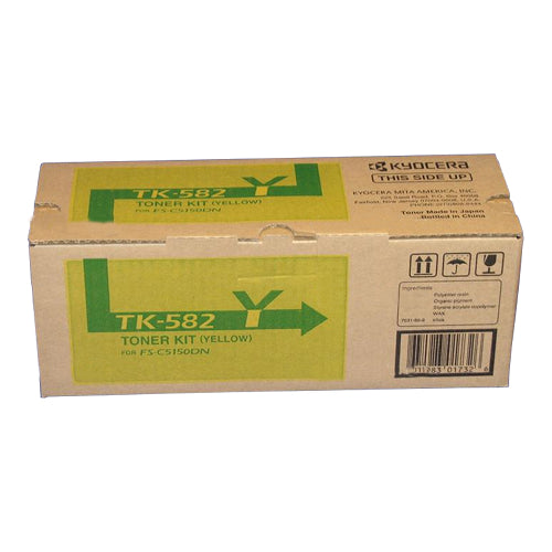 Kyocera FS-C5150DN Yellow Toner Cartridge - 2,800 pages - Out Of Ink