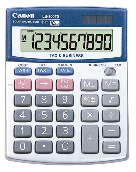 Canon LS1200TS Calculator - Out Of Ink