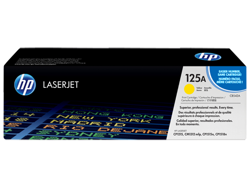 HP CP1215 / CM1312 / CP1515 / CP1518ni Yellow Toner Cartridge - 1,400 pages - Out Of Ink