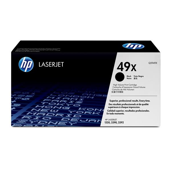 HP No.49X Toner Cartridge - 6,000 pages - Out Of Ink