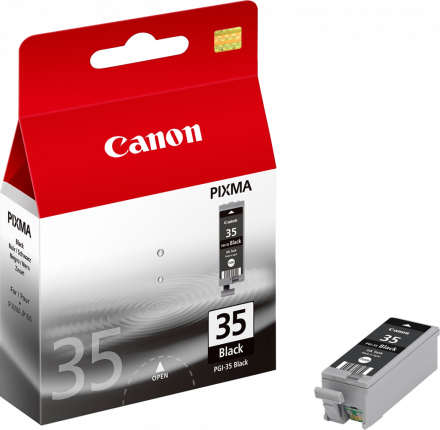 Canon PGI-35BK Black Ink Tank - Out Of Ink