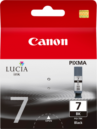Canon PGI-7BK Black Ink Cartridge - 565 pages - Out Of Ink