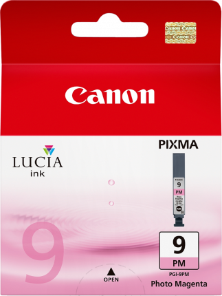 Canon PGI-9PM Photo Magenta Ink Tank - 37 pages - Out Of Ink