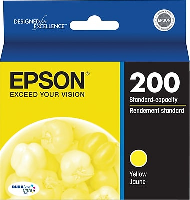 Epson 200 Yellow Ink Cartridge - 165 pages - Out Of Ink