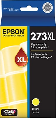 Epson 273 HY Yellow Ink Cartridge - 650 pages - Out Of Ink