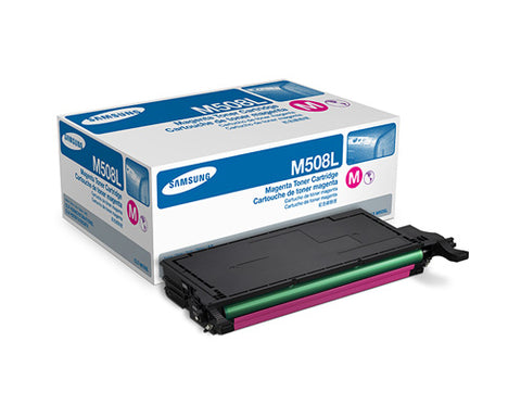 Samsung CLT-M508L Magenta Toner Cartridge - 4,000 pages @ 5% - Out Of Ink