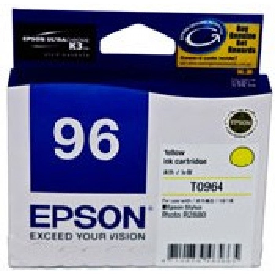 Epson T0964 Yellow Ink Cartridge - 940 pages - Out Of Ink