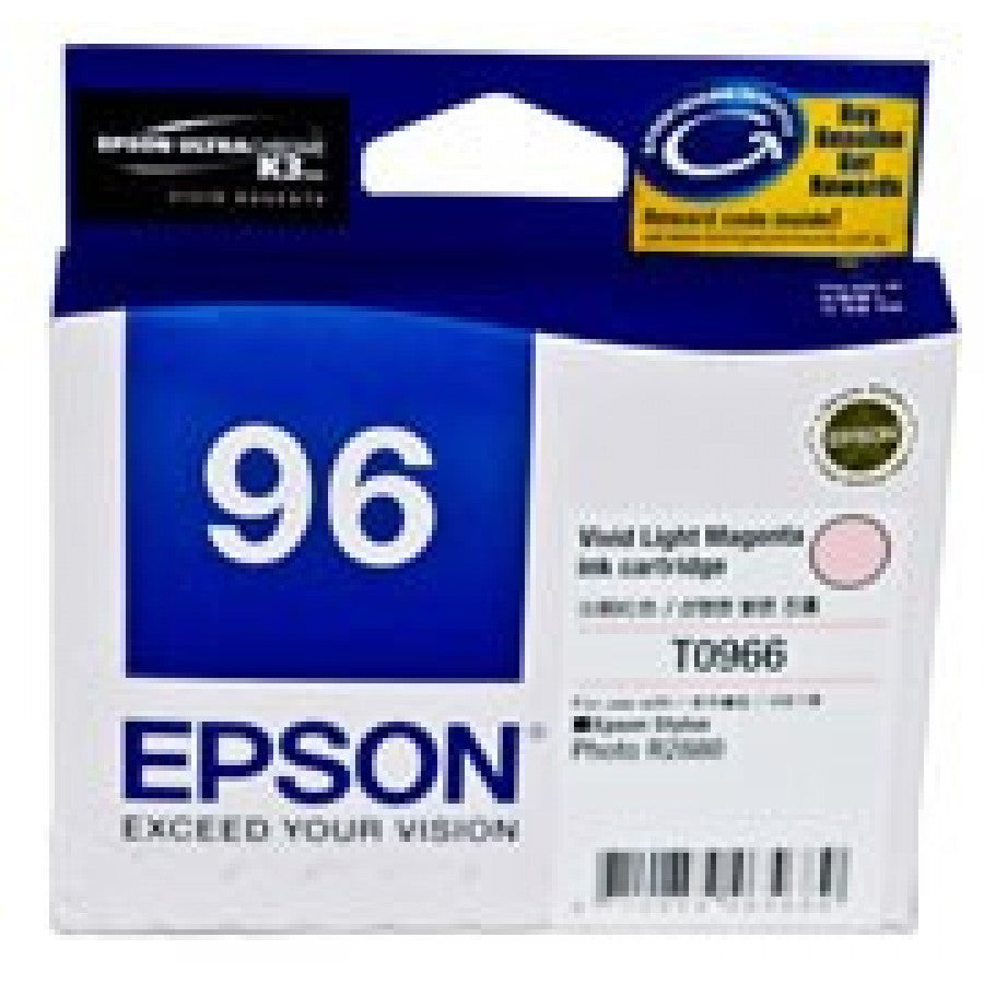 Epson T0966 Vivid Light Magenta Ink Cartridge - 940 pages - Out Of Ink