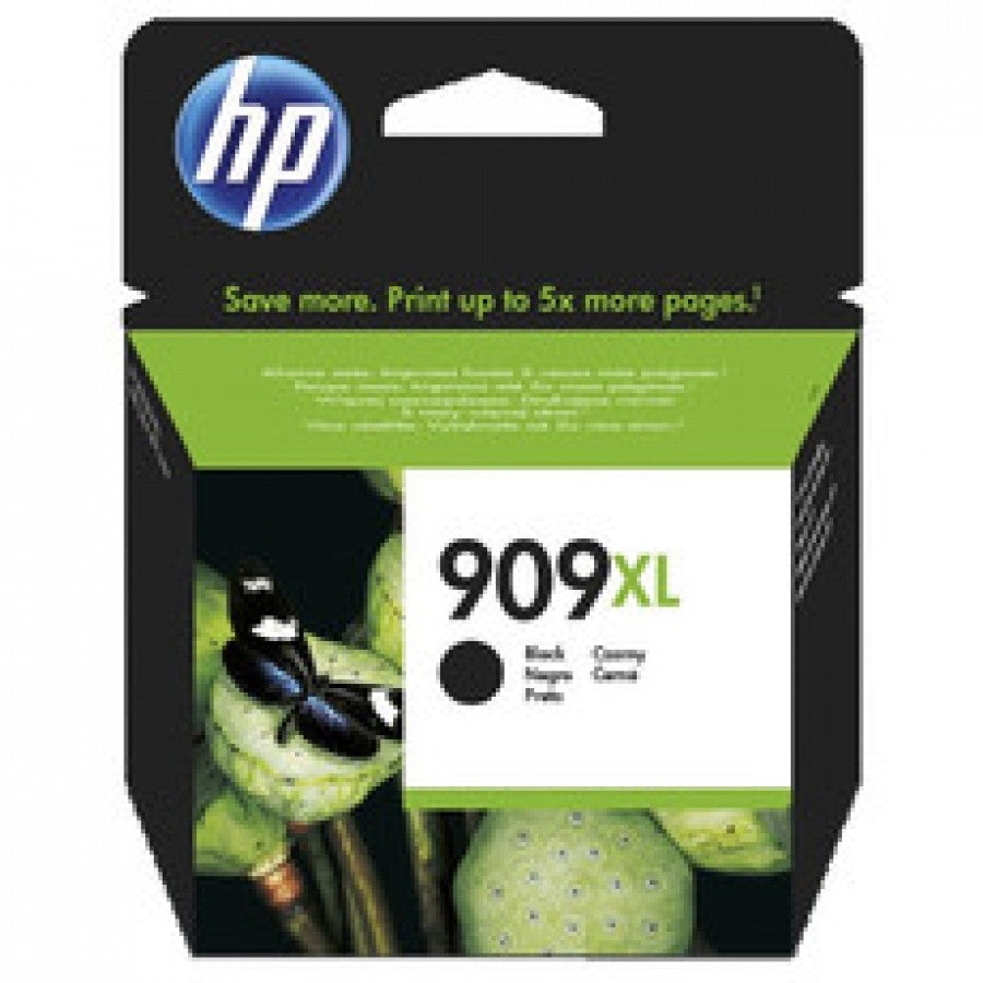 HP #909XL Black Ink T6M21AA - Out Of Ink
