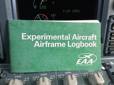EAA, Logbooks, Experimental, Recreational or Sport Pilot, Airframe, Prop & Engine