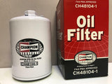 Champion, Aircraft Oil Filter, p/n CH48104-1 w/ FAA-PMA 8130 certificate