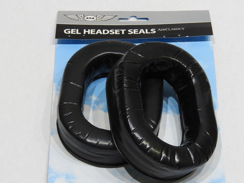 ASA, Gel Ear Seals for ASA Airclassics HS-1A Headset, 1 Pair