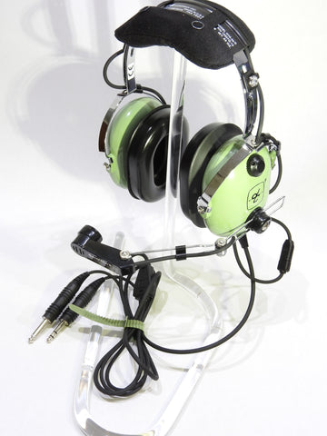 David Clark, H10-30 Headset p/n 12508G-17 w/ Dual G/A Connectors