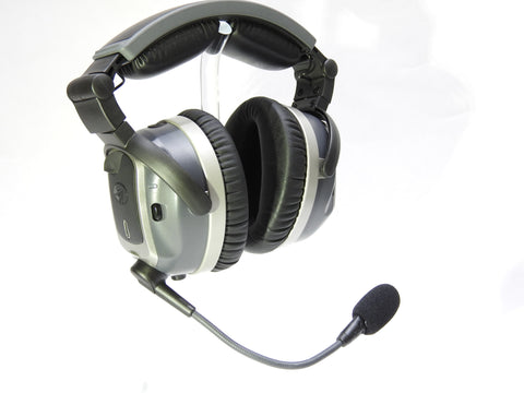 Lightspeed Aviation, Tango Wireless ANR Headset w/ Bluetooth & Dual G/A Connectors, p/n 4044