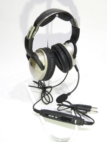 Lightspeed Aviation, Zulu 3 ANR Headset w/ Bluetooth & G/A, Panel Power or U-174 Connectors