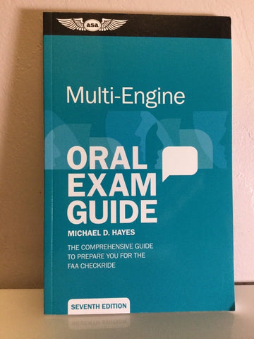 ASA, Oral Exam Guide for Multi Engines, p/n ASA-OEG-ME7