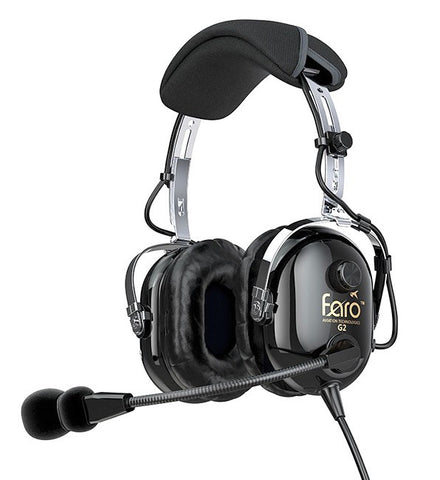Faro Aviation, G2 ANR Headset w/ Dual G/A Connectors