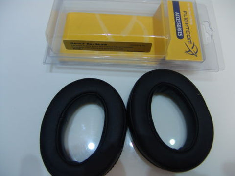 Flightcom, Denali Headset Protein Leather Ear Seals p/n 103-0019-10