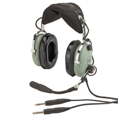David Clark, H10-60 Headset p/n 40128G-01 w/ Dual G/A Connectors