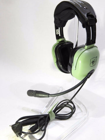 David Clark, H20-10 Passive Headset, w/ Dual G/A Connectors, p/n 40495G-01