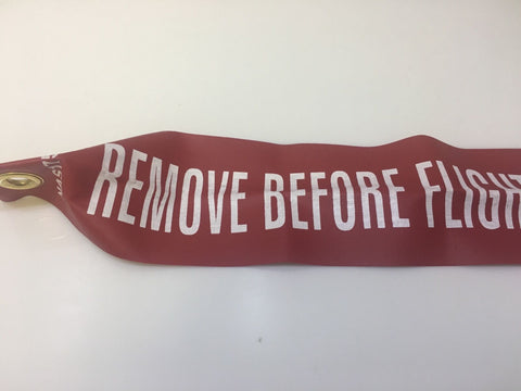 WPS, Remove Before Flight (RBF) Streamers