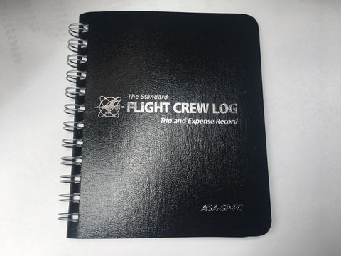 ASA, Pocket Flight Crew Logbook, for Pro Pilots, F/A & Instructors, p/n ASA-SP-FC
