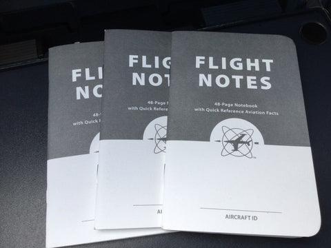 ASA, Flight Notes, Aviators Quick Reference Pocket Pad, 3 Pack, p/n ASA-FLT-NOTES