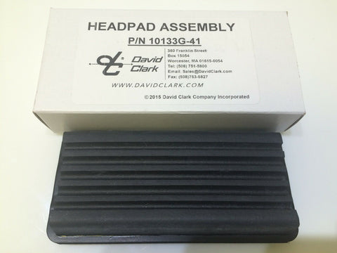 David Clark,  Ribbed Head Pad, p/n 10133G-41