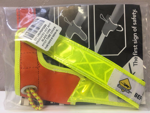 Plane Sights, Blade Type Pitot Tube Cover, High Viz Reflective, p/n PSBPC0308