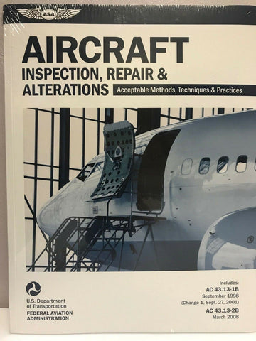 ASA, FAA Acceptable Aircraft Inspection, Repairs & Alterations Textbook, p/n ASA-AC43.13-1B2B