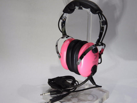 Pilot-USA, Pink, Child or Youth Aviation Headset, p/n PA-1151ACG