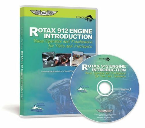 ASA, Rotax 912 Engine Introduction DVD, Version 2, p/n F2F-ROTAX-2