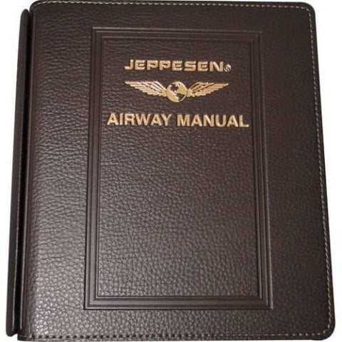 "Jeppesen, Chart Binders, Superior Plastic or Leather in 1"" & 2"" Models"
