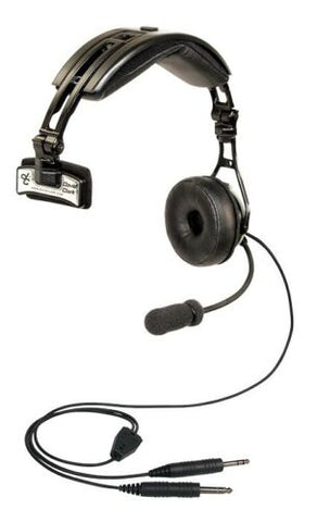 David Clark, DC PRO Passive Headset Single Side, w/ Dual Connectors (G/A-Boeing), p/n 43101G-06