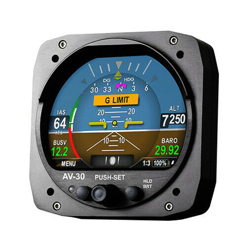 uAvionix AV-30C Multi-Function Display, PFD (Primary Flight Display) Certified