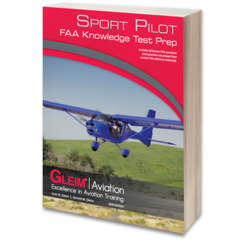 Gleim, 2020 Sport Pilot FAA Knowledge Test Prep, p/n SPKT-20