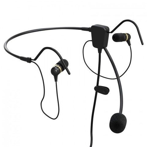 Faro Aviation, Air, Lightweight Premium Headset w/ GA Connectors,