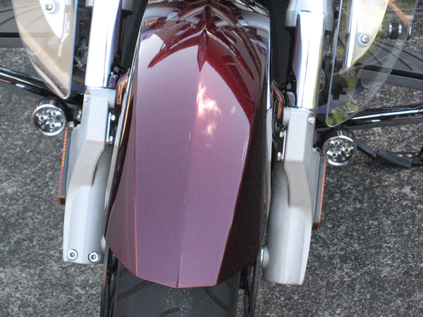 Victory Crossroads with Darlas mounted to the fender