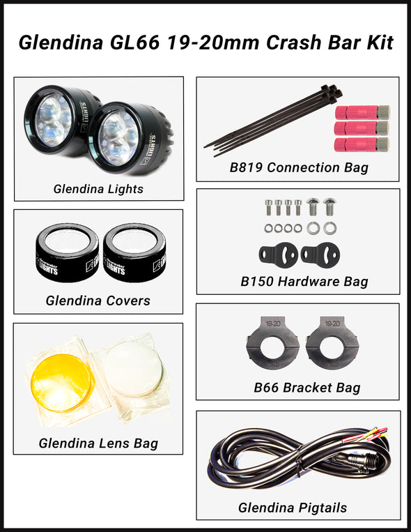 Glendina Universal LED Light Kit