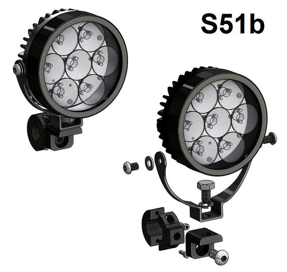 "Sevina (BMW R1250GSAW ""water-cooled"") LED Lights"